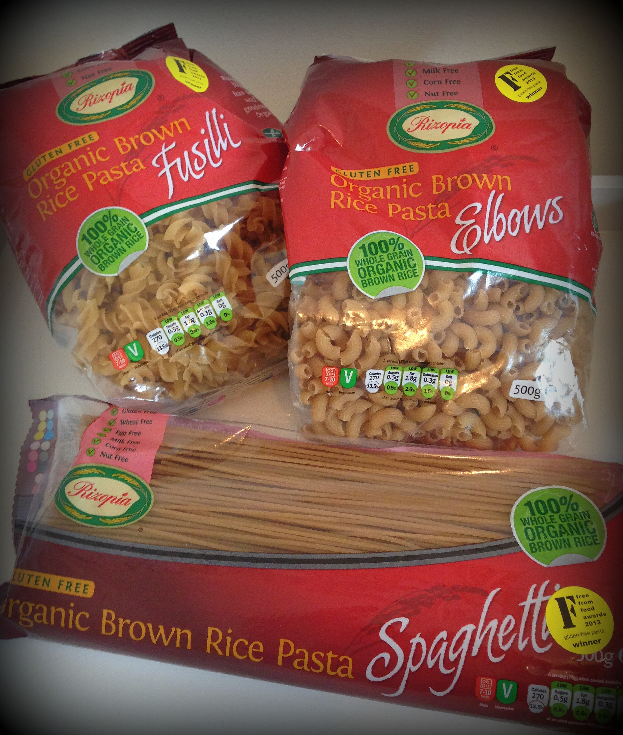 Brown rice pasta vs whole wheat pasta