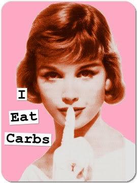 I eat carbs