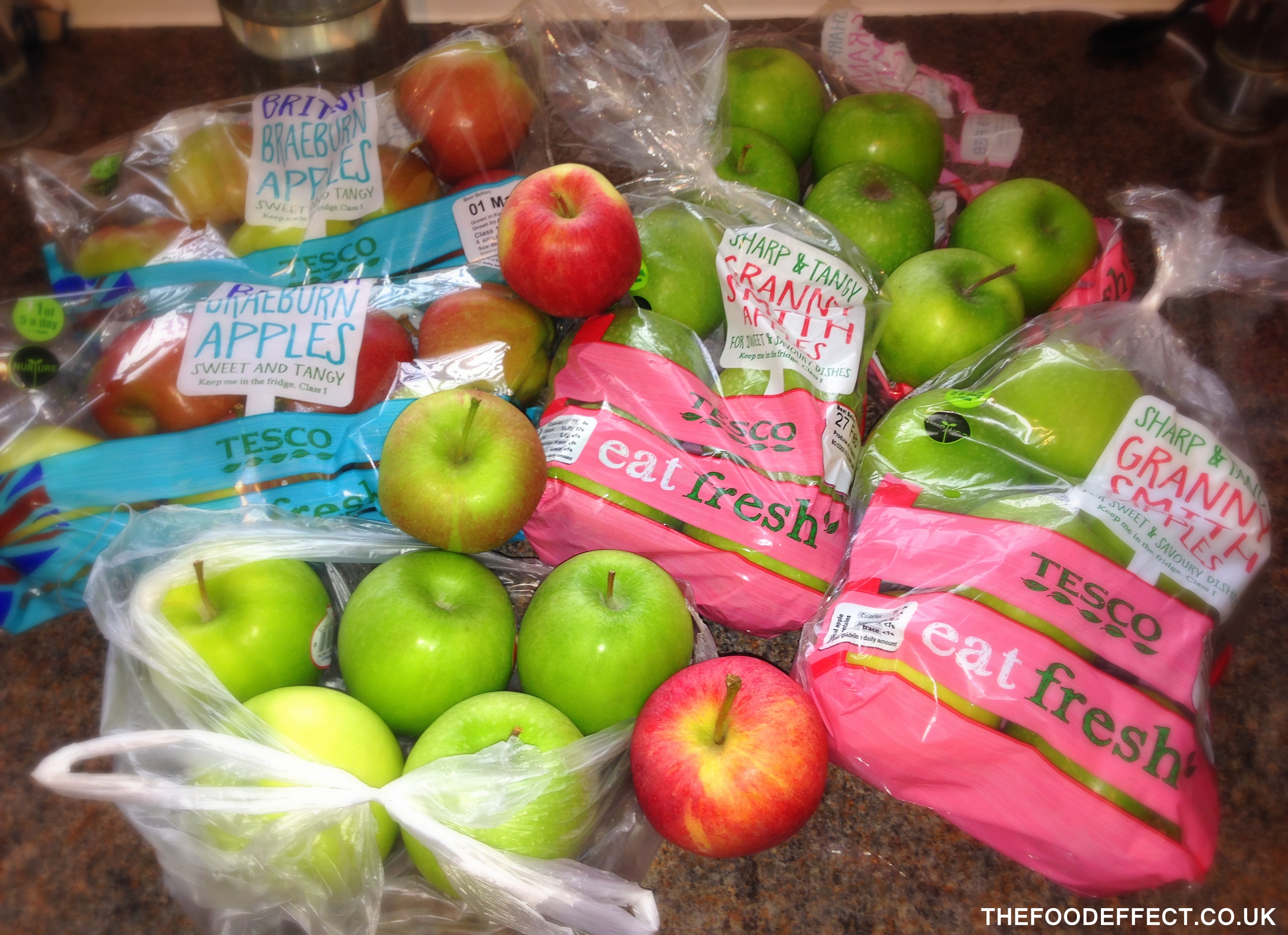 "What happens when you ask a man to ""buy a bag of apples"" :-)"